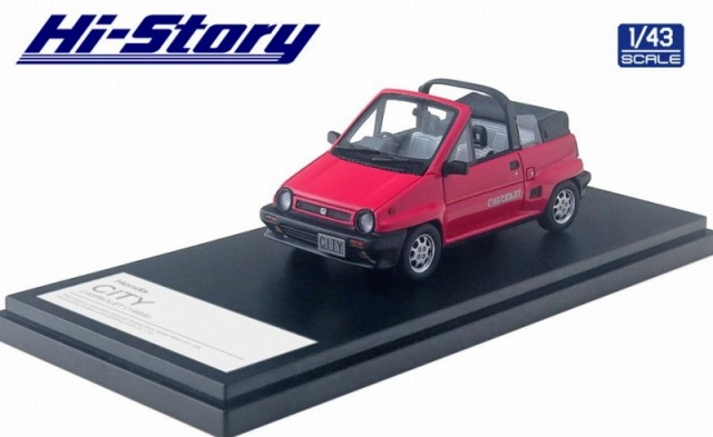 Hi-Story 1/43 Honda CITY CABRIOLET(1984) ジョイフルピンク