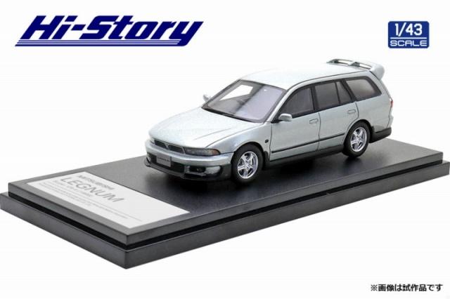Hi-Story 1/43 MITSUBISHI LEGNUM Super VR-4(1998) ハミルトンシルバー