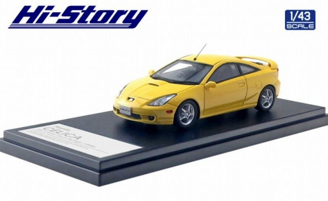 Hi-Story 1/43 Toyota CELICA SS-2 Super Strut Package(1999) スーパーブライトイエロー