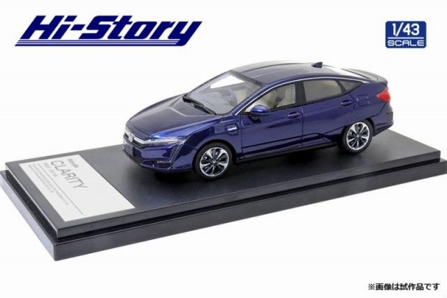 Hi-Story 1/43 Honda CLARITY PHEV (2019) コバルトブルーパール