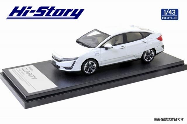 Hi-Story 1/43 Honda CLARITY PHEV (2019) プラチナホワイトパール