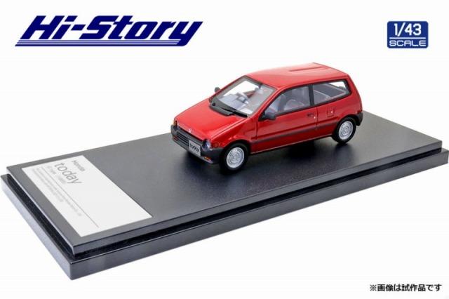 Hi-Story 1/43 Honda today G type 1985 フレイムレッド