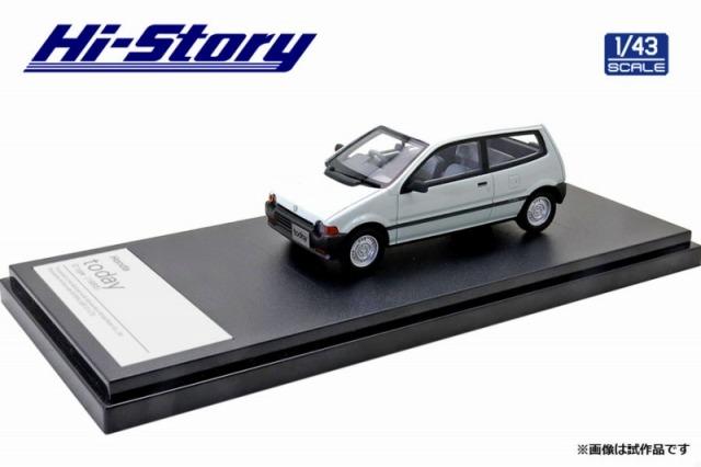 Hi-Story 1/43 Honda today G type 1985 グリークホワイト