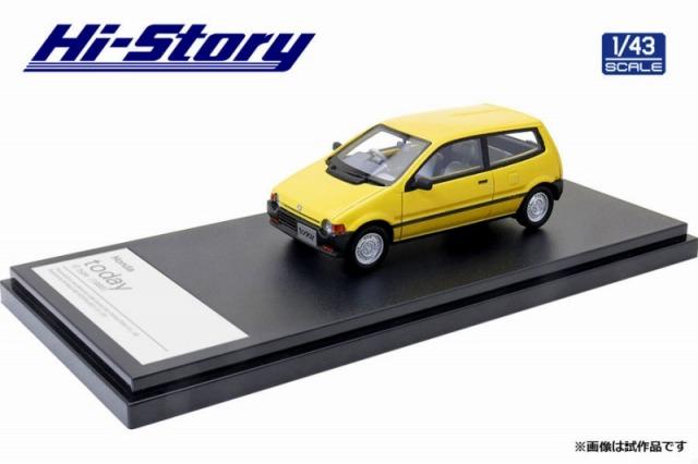 Hi-Story 1/43 Honda today G type 1985 サニーイエロー