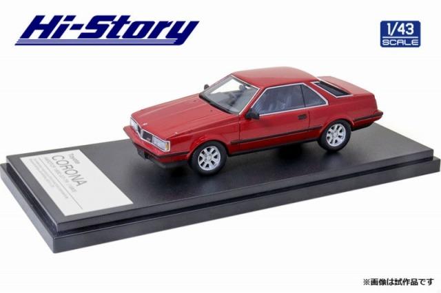 Hi-Story 1/43 Toyota CORONA HARDTOP 1800 GT-TR 1983 レッド