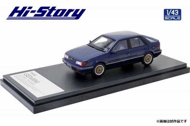 Hi-Story 1/43 ISUZU GEMINI ZZ(1988)カスタマイズ トルーパー・ブルー