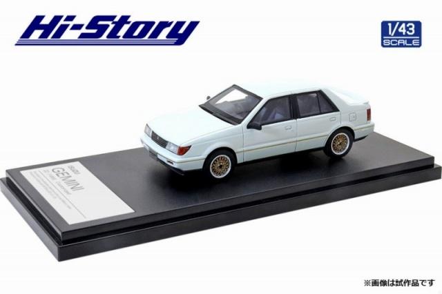 Hi-Story 1/43 ISUZU GEMINI ZZ(1988)カスタマイズ ピュア・ホワイト