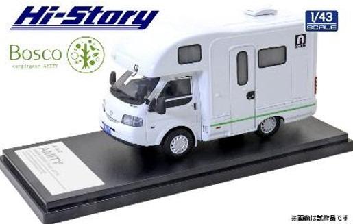 Hi-Story 1/43 AtoZ AMITY Bosco キャンピングカー(マツダ ボンゴトラック 2019) グリーンライン