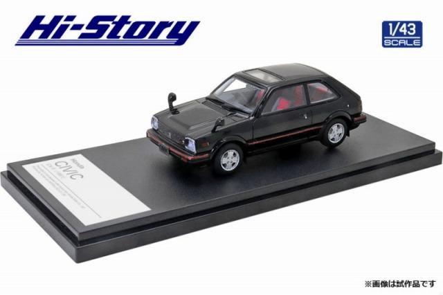 Hi-Story 1/43 Honda CIVIC CX-S(1981) ブラック