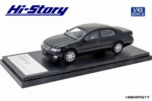 Hi-Story 1/43 Toyota ARISTO 3.0V 1994 ブラック