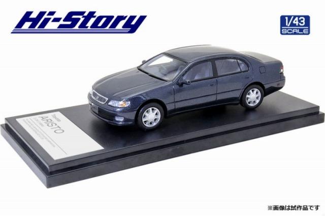 Hi-Story 1/43 Toyota ARISTO 3.0V 1994 ダークブルーイッシュグレーメタリック