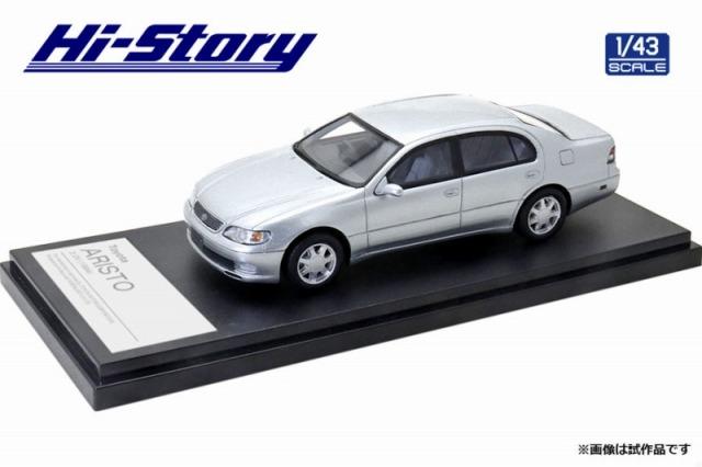Hi-Story 1/43 Toyota ARISTO 3.0V 1994 シルバーメタリック
