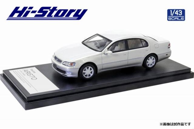 Hi-Story 1/43 Toyota ARISTO 3.0V 1994 ウォームグレーパールマイカトーニングG