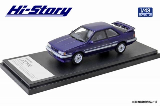 Hi-Story 1/43 SUBARU LEONE RX/II 1986 ブルー
