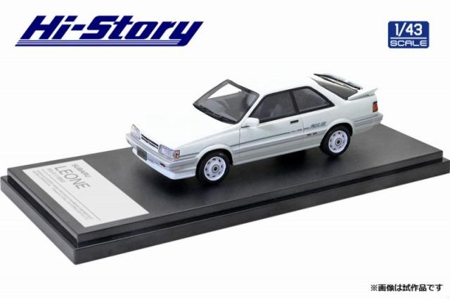 Hi-Story 1/43 SUBARU LEONE RX/II 1986 ホワイト
