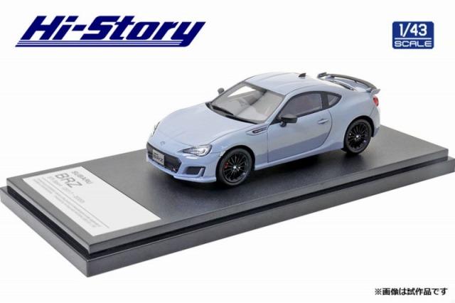 Hi-Story 1/43 SUBARU BRZ STI Sport Cool GrayKhaki Edition (2017) クールグレーカーキ