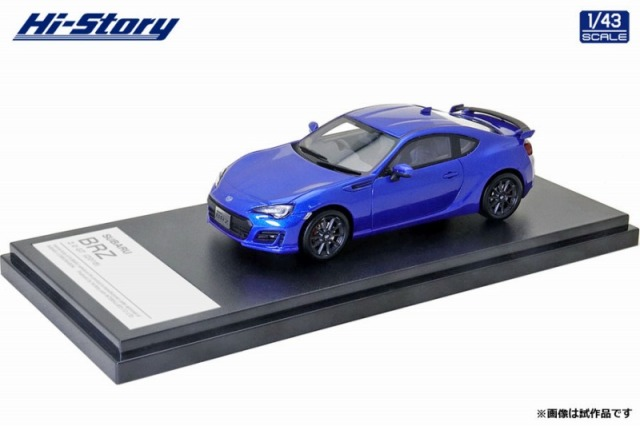 Hi-Story 1/43 SUBARU BRZ 2.0 GT (2016) WRブルー・パール