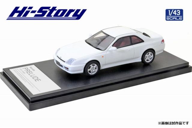 Hi-Story 1/43 Honda PRELUDE SiR(1996) タフタホワイト