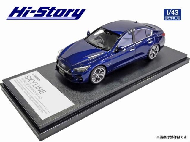 Hi-Story 1/43 NISSAN SKYLINE GT Type SP(2020) ディープオーシャンブルー