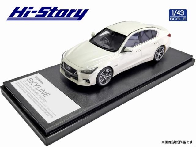 Hi-Story 1/43 NISSAN SKYLINE GT Type SP(2020) ブリリアントホワイトパール