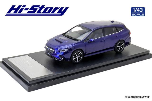 Hi-Srory 1/43 SUBARU LEVORG GT-H (2020) ラピスブルー・パール