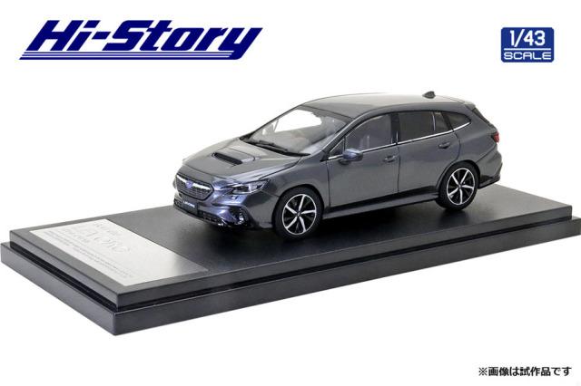 Hi-Story 1/43 SUBARU LEVORG GT-H (2020) マグネタイトグレー・メタリック