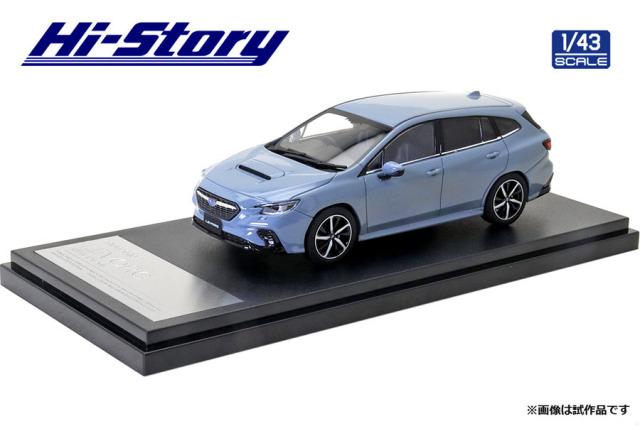 Hi-Story 1/43 SUBARU LEVORG GT-H (2020) クールグレーカーキ