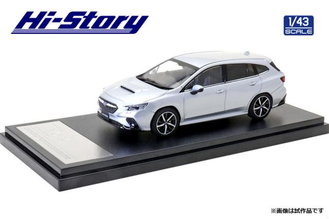 Hi-Story 1/43 SUBARU LEVORG GT-H (2020) アイスシルバー・メタリック