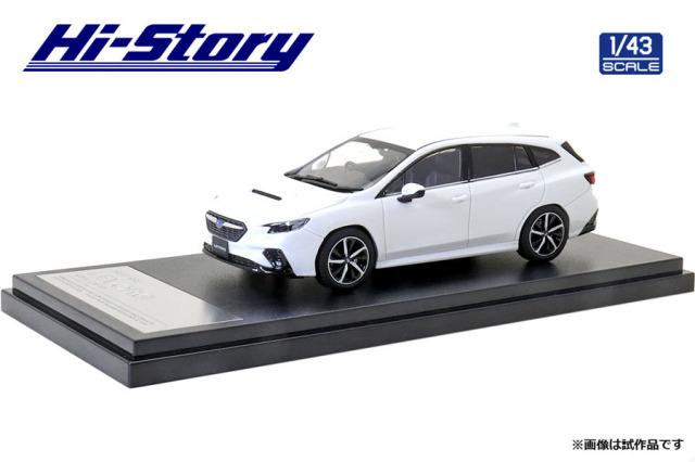Hi-Story 1/43 SUBARU LEVORG GT-H (2020) クリスタルホワイト・パール