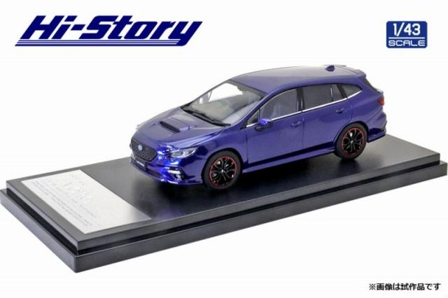Hi-Story 1/43 SUBARU LEVORG (2020) スポーツスタイルアクセサリー ラピスブルー パール
