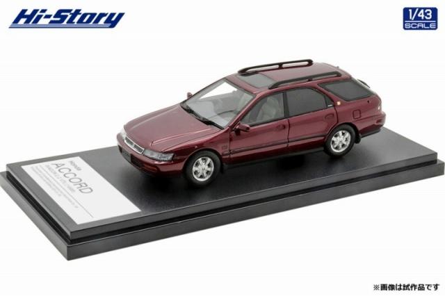 Hi-Story 1/43 Honda ACCORD WAGON 2.2VTL(1996) ボルドーレッドパール