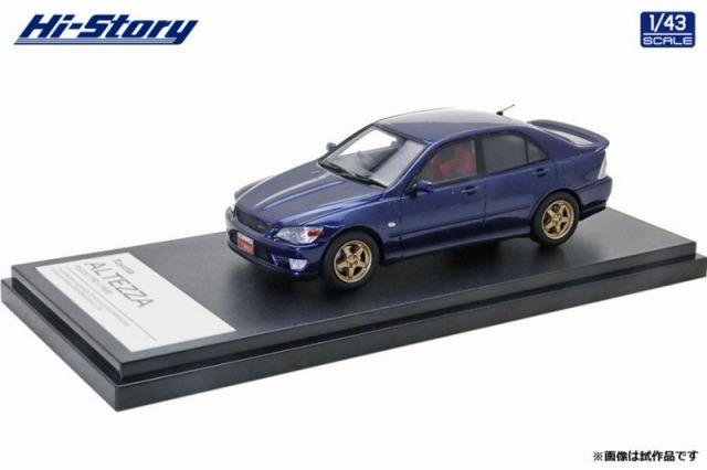Hi-Story 1/43 Toyota ALTEZZA RS200 TRD(1998) ブルーマイカ