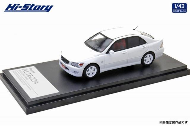 Hi-Story 1/43 Toyota ALTEZZA RS200 TRD(1998) スーパーホワイト2