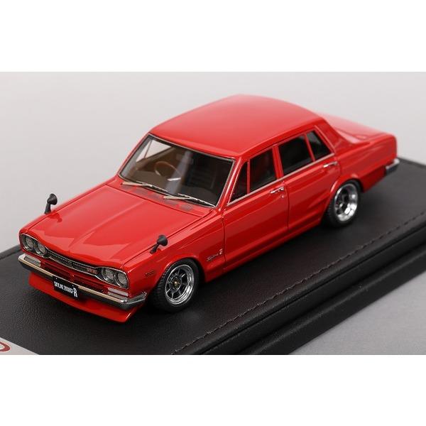 【イグニッションモデル】 1/43 日産 スカイライン 2000 GT-R PGC10 1970 (レッド)