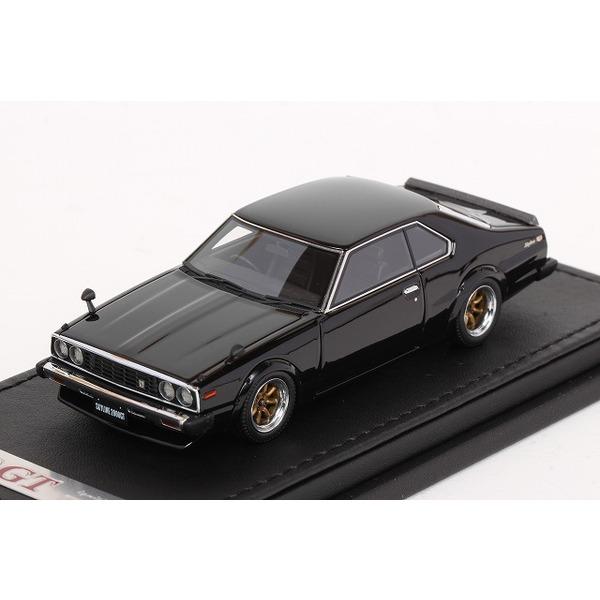 【イグニッションモデル】 1/43 日産 スカイライン 2000 GT-ES (C210) ブラック