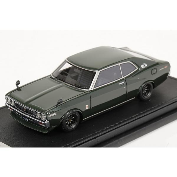 【イグニッションモデル】 1/43 Nissan Laurel 2000SGX  (C130) Green