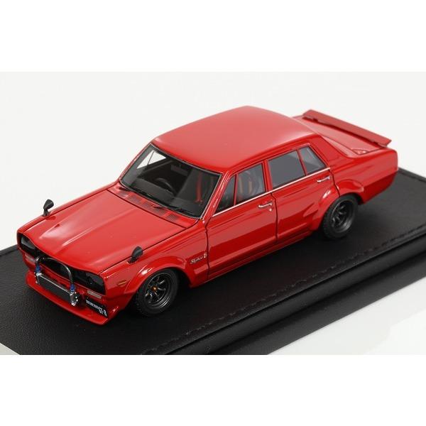 【イグニッションモデル】 1/43 Nissan Skyline 2000 GT-R (PGC10) Red