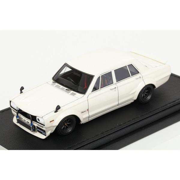 【イグニッションモデル】 1/43 Nissan Skyline 2000 GT-R (PGC10) White