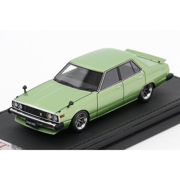 【イグニッションモデル】 1/43 日産 スカイライン 2000 GT-EL C210 グリーン