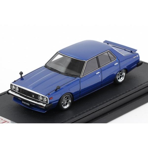 【イグニッションモデル】 1/43 日産 スカイライン 2000 GT-EL C210 ブルー