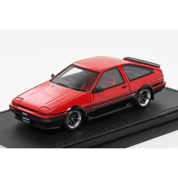 【イグニッションモデル】 1/43 Toyota Sprinter Trueno(AE86) 3Door GT Apex    Red/Black