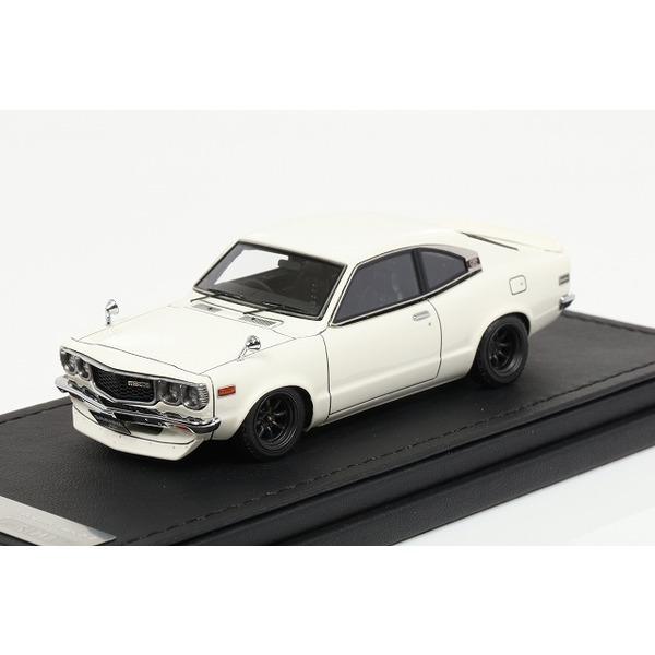 【イグニッションモデル】 1/43  Mazda Savanna (S124A) White