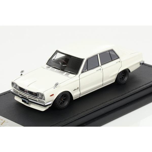 【イグニッションモデル】 1/43 Nissan Skyline 2000 GT (GC10)  White