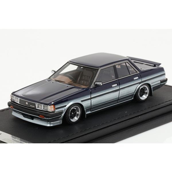 【イグニッションモデル】 1/43 Toyota Cresta Super Lucent (GX71) Blue/Glay