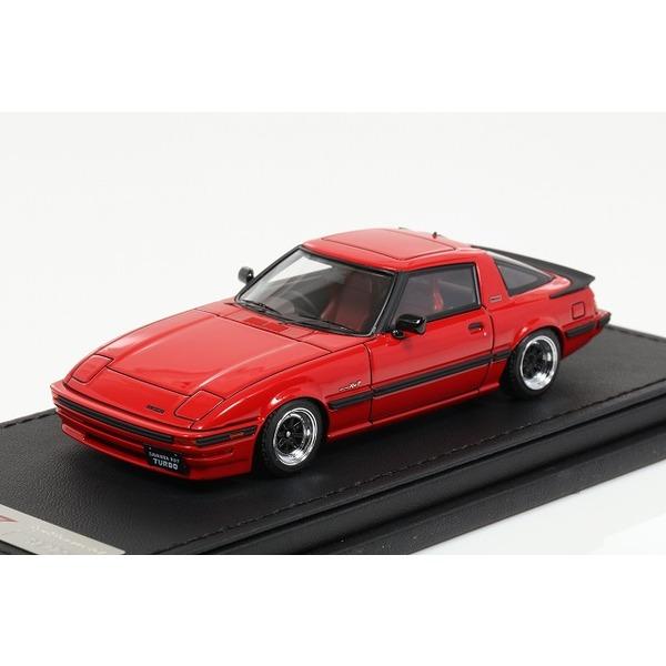 【イグニッションモデル】 1/43 Mazda Savanna RX-7 (SA22C) Red