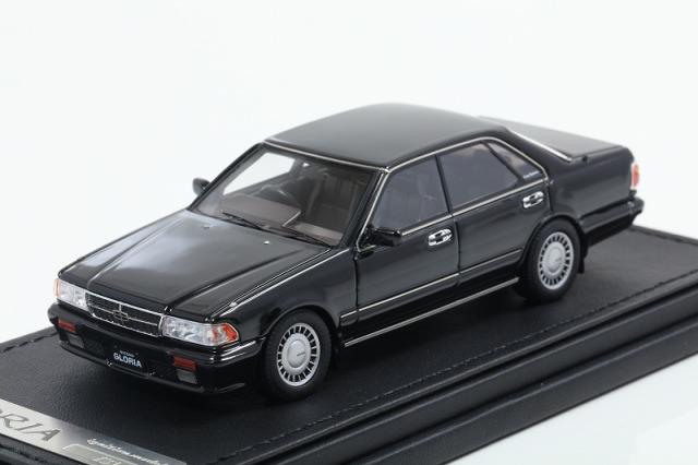 [Ignition model] 1/43 Nissan Gloria (Y31) Gran Turismo SV Black