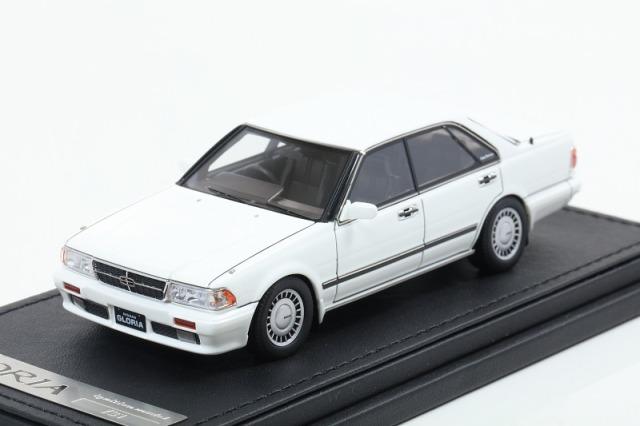 [Ignition model] 1/43 Nissan Gloria (Y31) Gran Turismo SV White