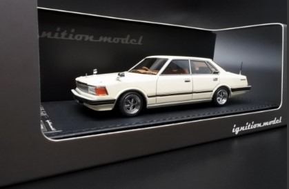 Ignition model 1/43 Nissan Cedric (P430) 4Door Hardtop 280E Brougham White
