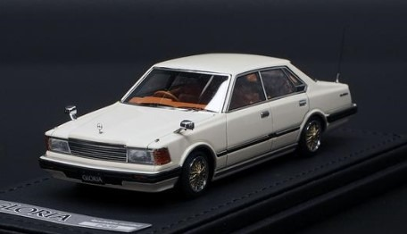 Ignition model 1/43 Nissan Gloria (P430) 4Door Hardtop 280E Brougham White