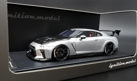 ignition 1/43 TOP SECRET GT-R (R35) Silver